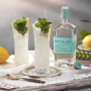 Hayman's Old Tom and Lemon Tonic