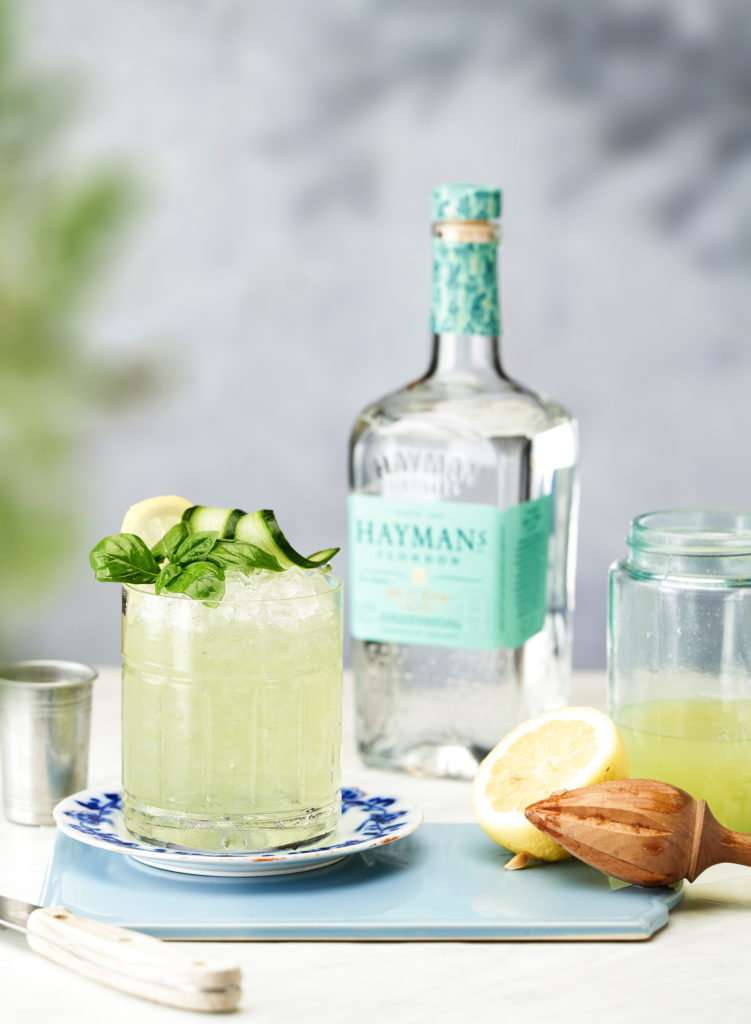 Hayman's Basil Smash cocktail