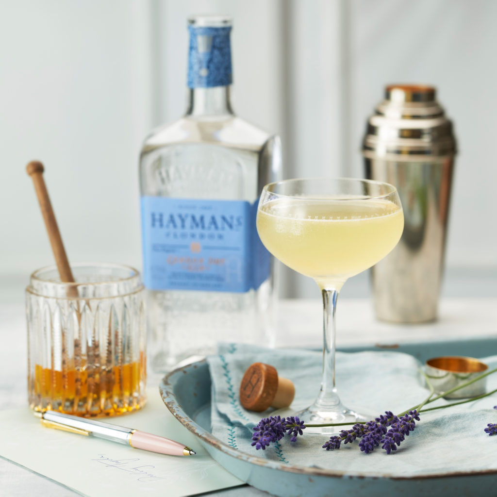 Hayman's London Dry Gin the bees knees cocktail