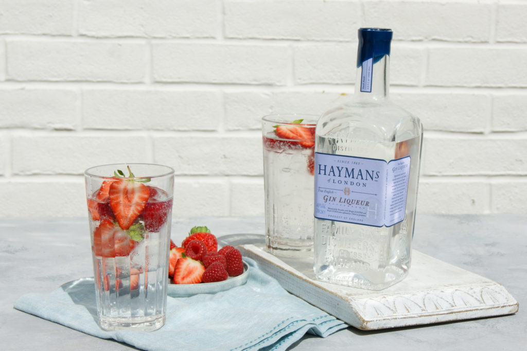 Hayman's Gin Liqueur and Soda