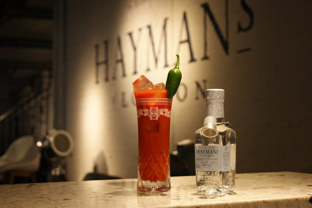 Hayman's Bloody Small Mary