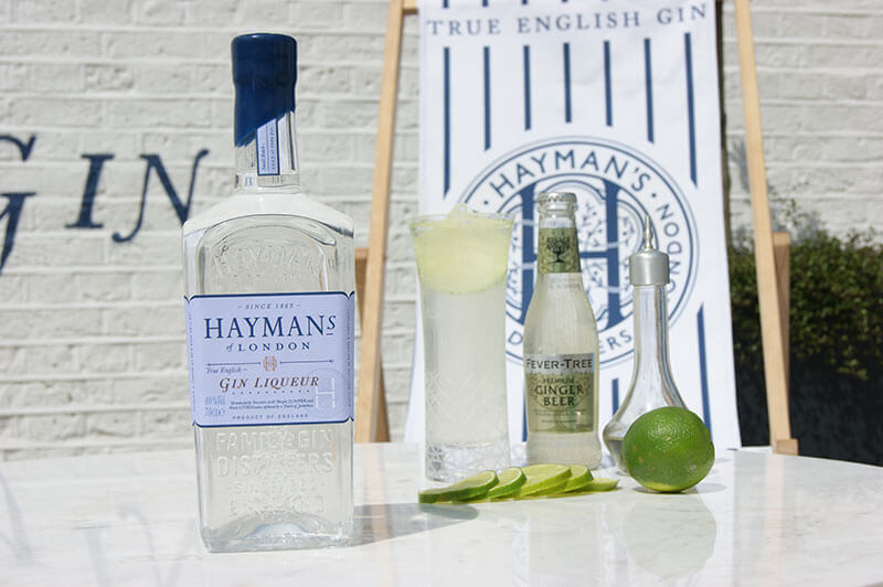 Hayman's Gin Liqueur and Ginger