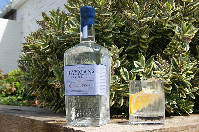 Hayman's Gin Liqueur and Tonic