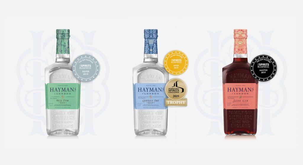 Hayman's Gin awards
