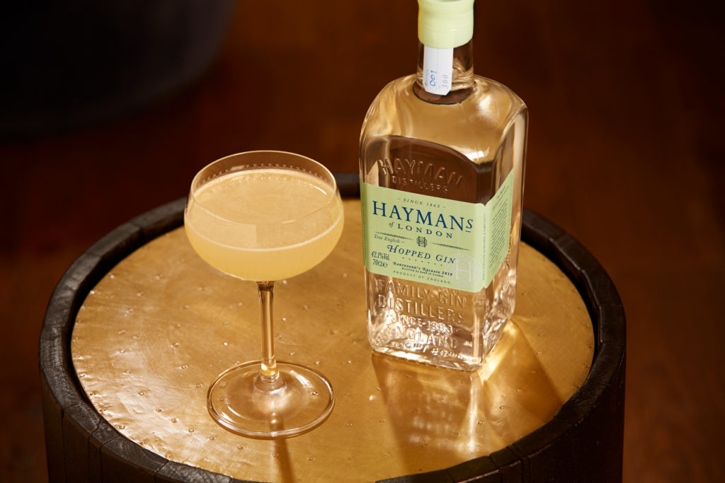 Hayman's Hopped Gin Bees Knees Cocktail