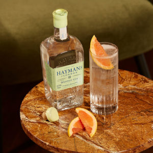 Hayman's Hopped gin and tonic