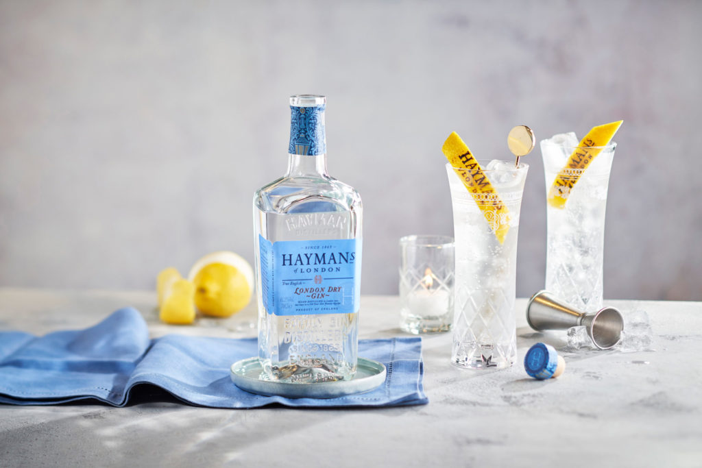 Hayman's London Dry Gin + Tonic