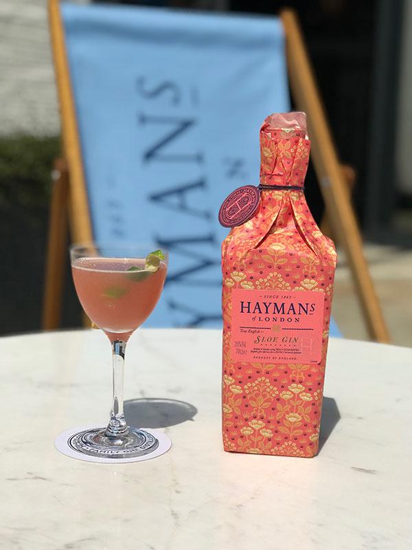 Hayman's Sloe Gin Charlie Chaplain