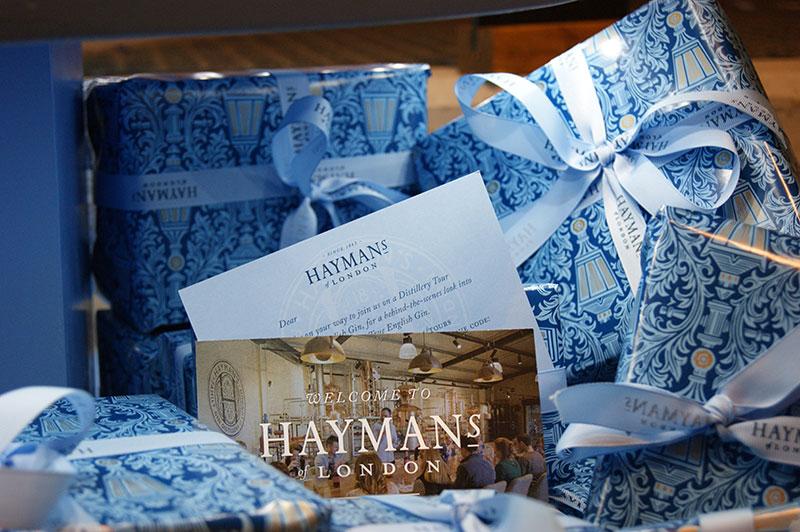 Hayman's gift vouchers