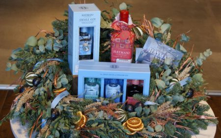 Hayman's gift wrapped gin