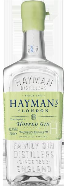 Hayman's Hopped Gin 70cl bottle