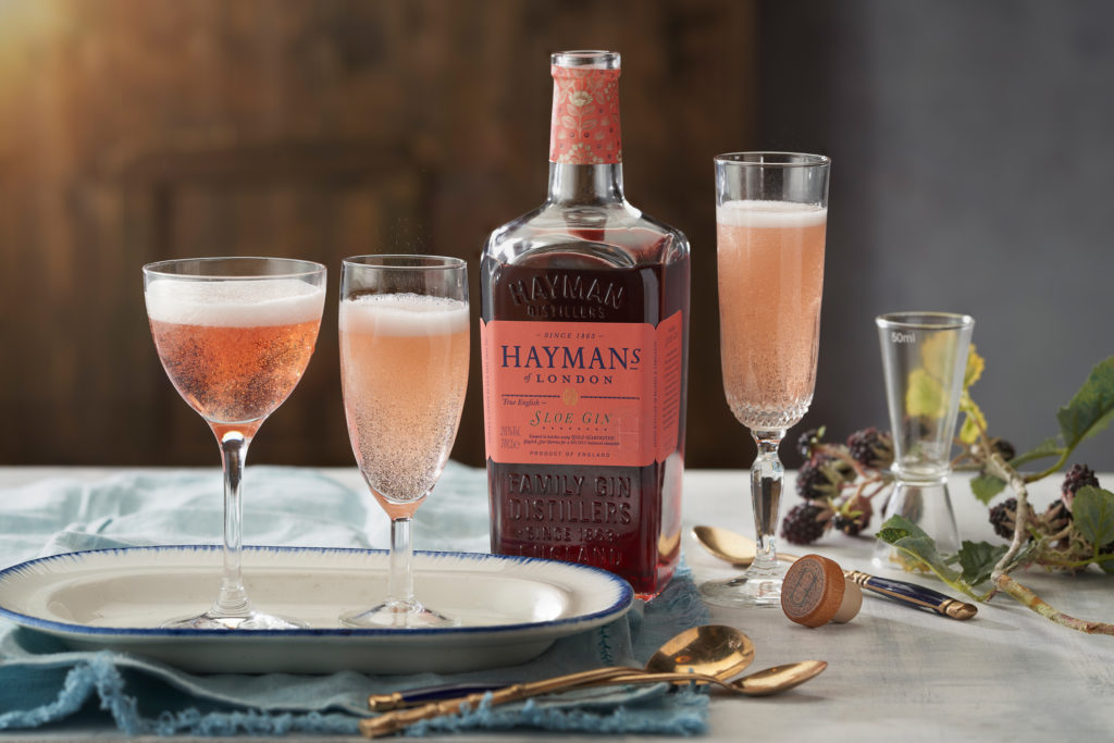 Hayman's Sloe Gin cocktail