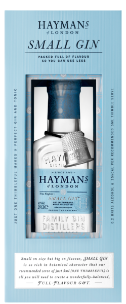 Hayman's Small Gin with gift box