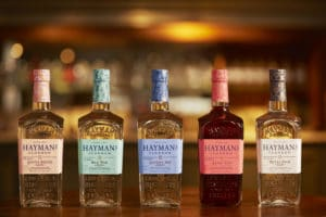 Hayman's gin collection