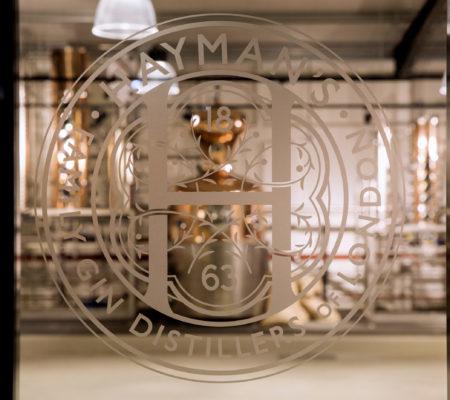 Hayman's distillery window