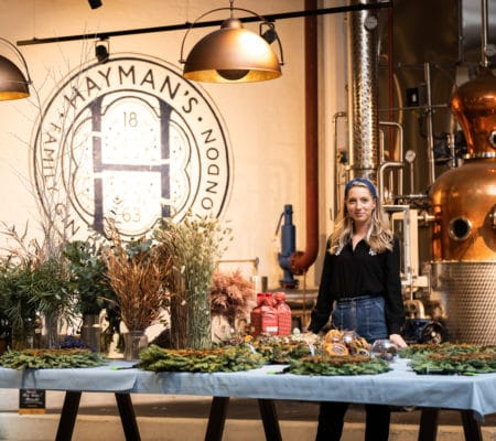 Hayman's wreath making workshop