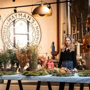 Hayman's wreath making workshop