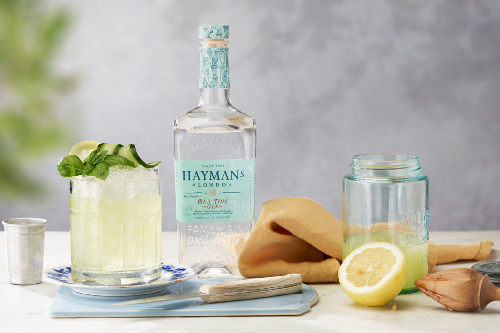 Hayman's Old Tom Basil Smash