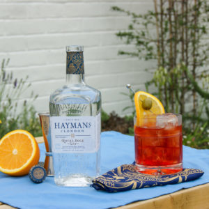 Navy Strength Negroni
