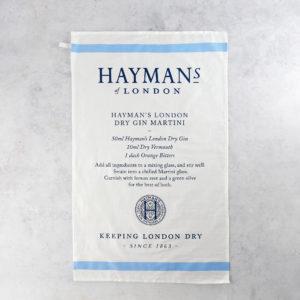 Hayman's Tea Towel Martini Recipe