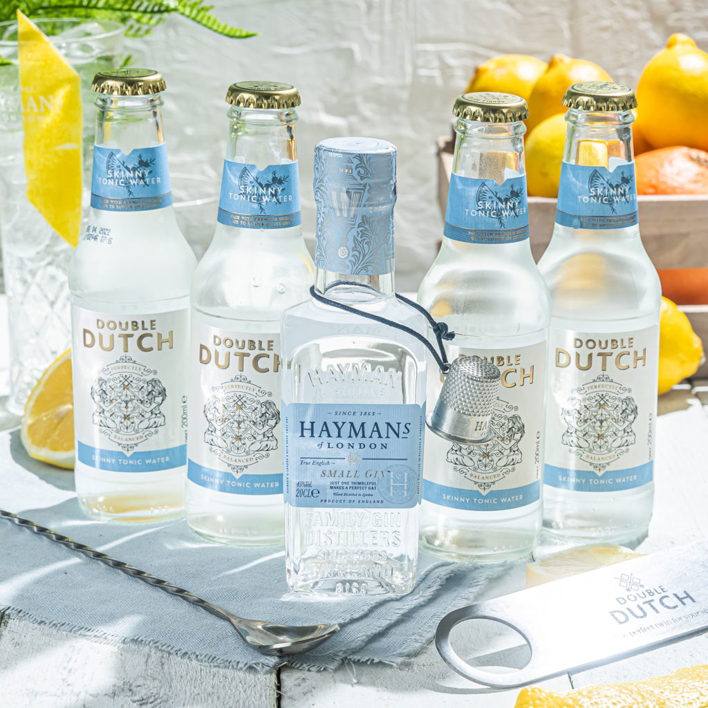 Hayman's Small Gin with Double Dutch